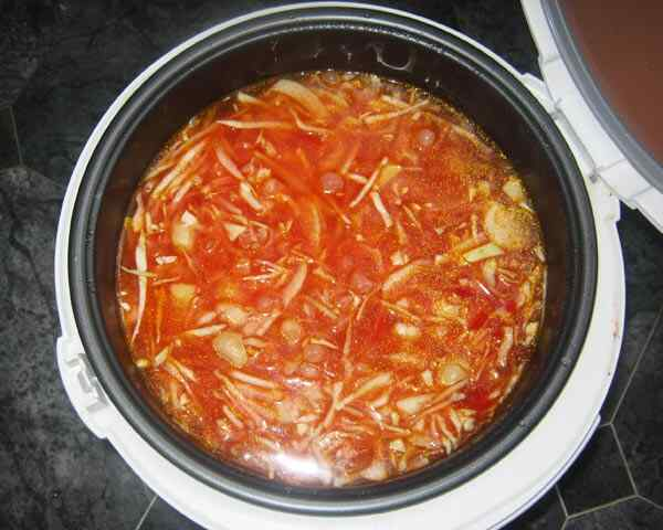 Redmond рецепт борщ