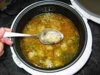 Суп в мультиварке панасоник 18