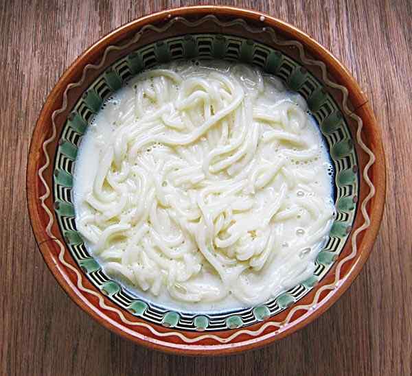 как приготовить молочный суп в мультиварке шиваки