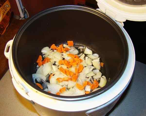 гороховый суп в мультиварке поларис пошаговый рецепт