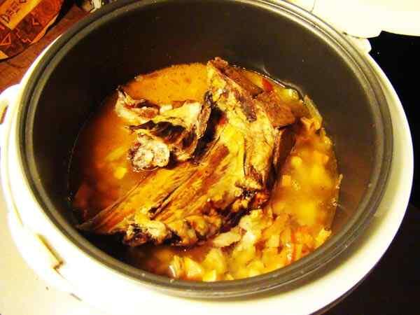 рецепты в мультиварке philips hd3058 фасолевый суп