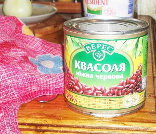 рецепт быстрого супа с фасолью