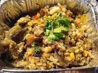 Гречка с овощами и грибами в мультиварке