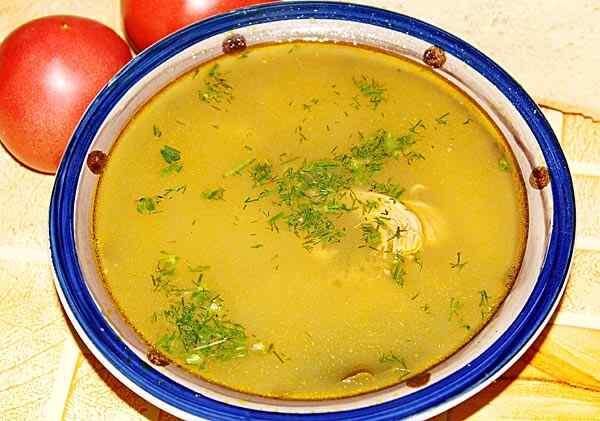 Суп в мультиварке редмонд