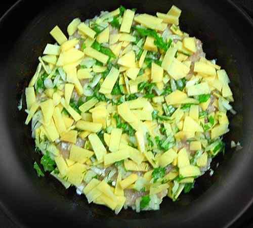 Как приготовить запеканку из картофеля и фарша в мультиварке