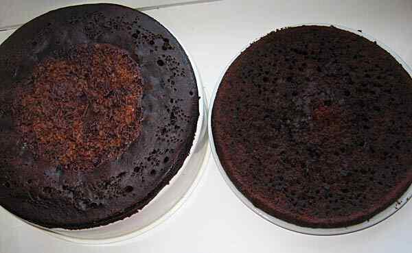 Шоколадный торт на кипятке в мультиварке
