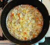Суп овощной в мультиварке
