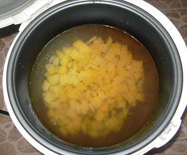 рецепт приготовления супа на мультиварке панасоник
