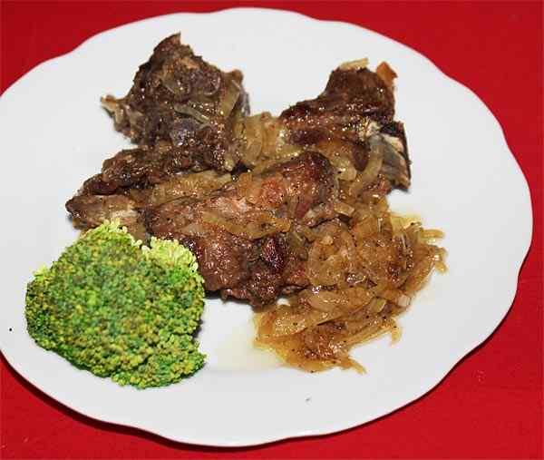 Блюда из свинины в мультиварке