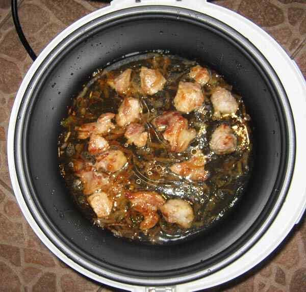 рецепты приготовления свинины в мультиварке панасоник