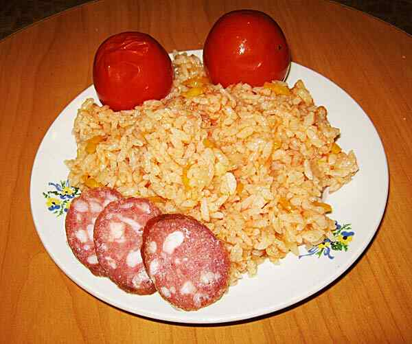 Рис на гарнир в мультиварке
