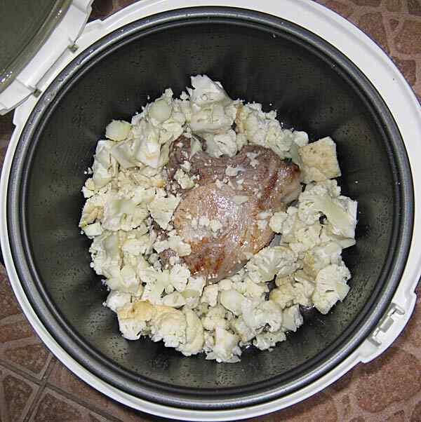 Свинина с картошкой в мультиварке