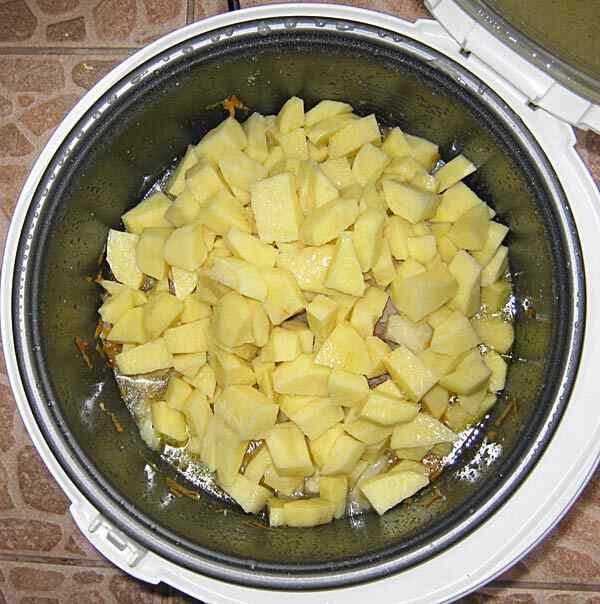 рецепты свинины с картошкой и капустой в мультиварке