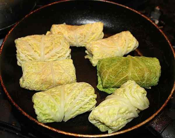 Голубцы из свежей капусты рецепт с фото