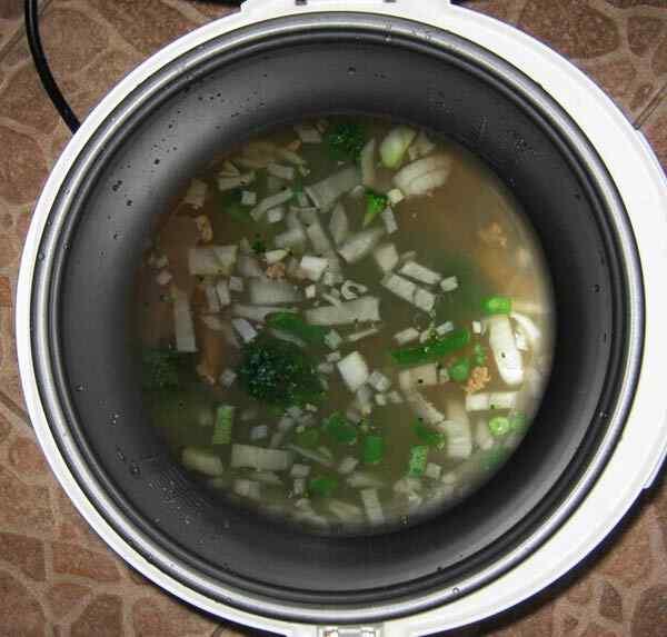 Рецепт супа в мультиварке панасоник рецепты