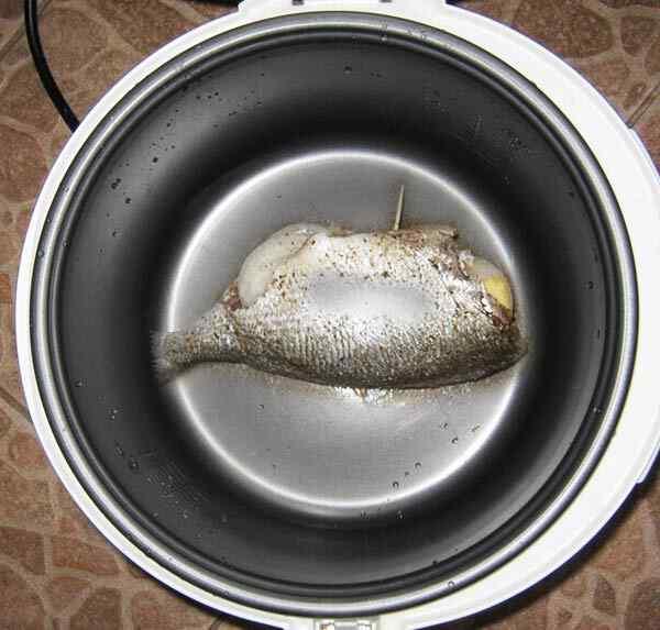 Как готовить рыбу в мультиварке