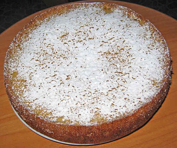 Лимонный пирог в мультиварке