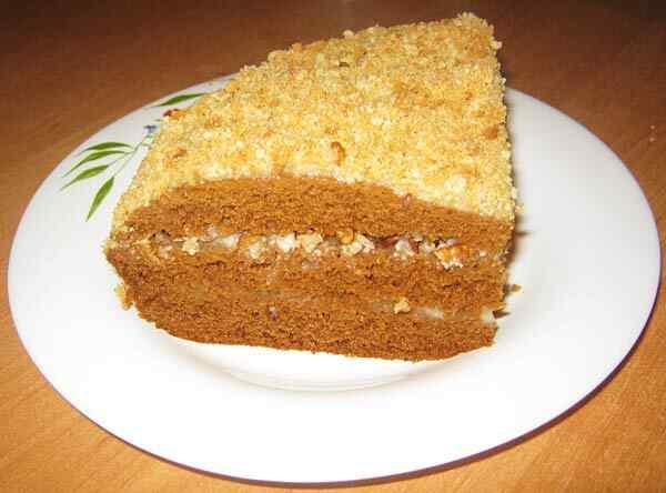 медовик торт рецепт для мультиварки
