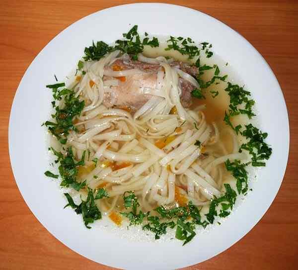 рецепты для мультиварки куриный суп лапша