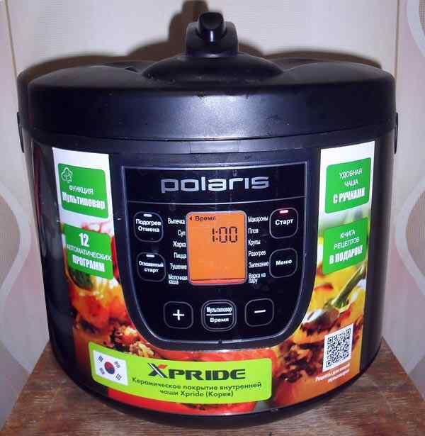 Мультиварка Polaris PMC 0511ad отзывы