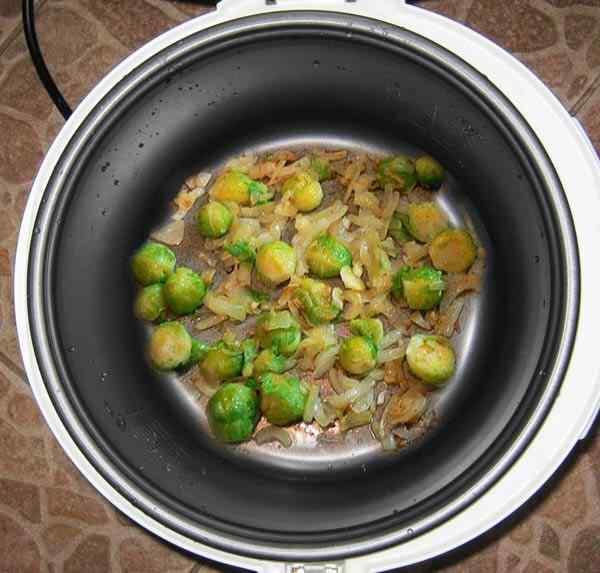 капуста брюссельская рецепты приготовления в мультиварке