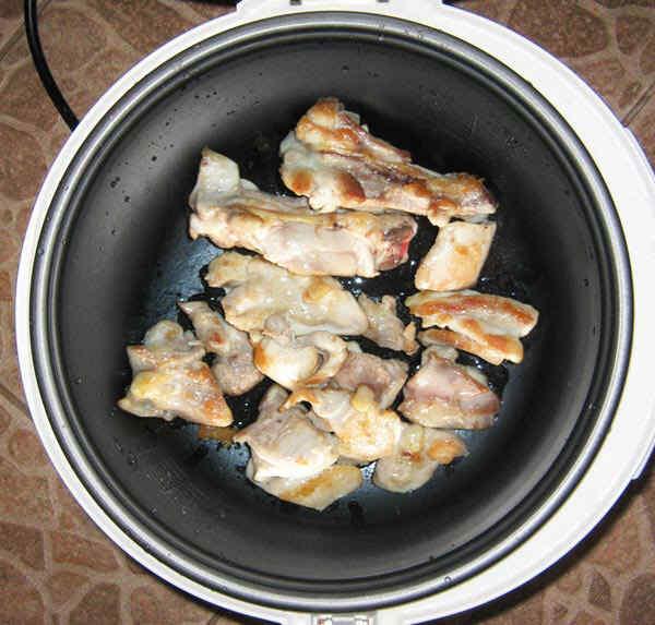 Как жарить курицу в мультиварке