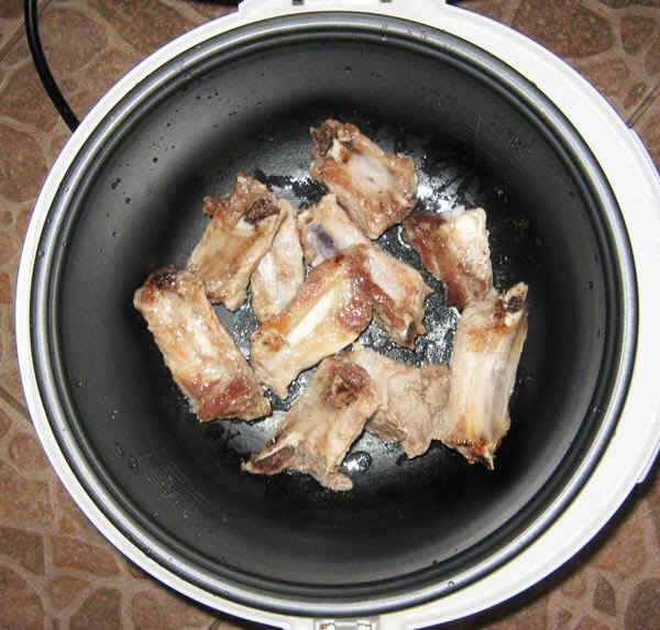 Плов в мультиварке со свинины