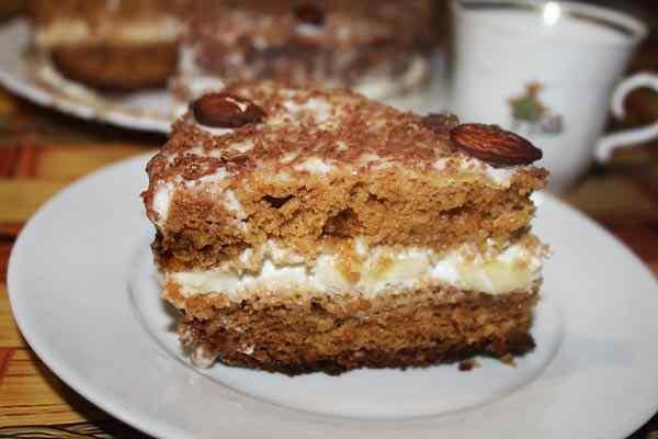 Торт медовик в мультиварке рецепт