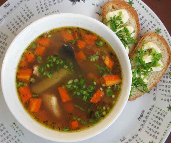 Чечевичный суп в мультиварке
