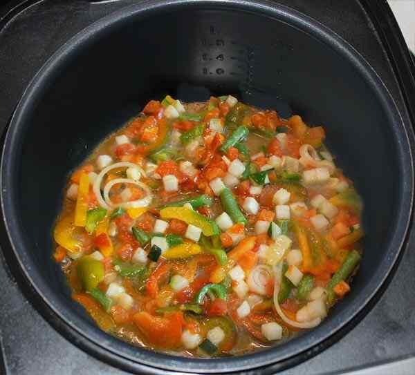 суп с замороженными овощами в мультиварке рецепты