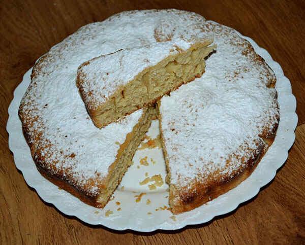 Медовый пирог в мультиварке
