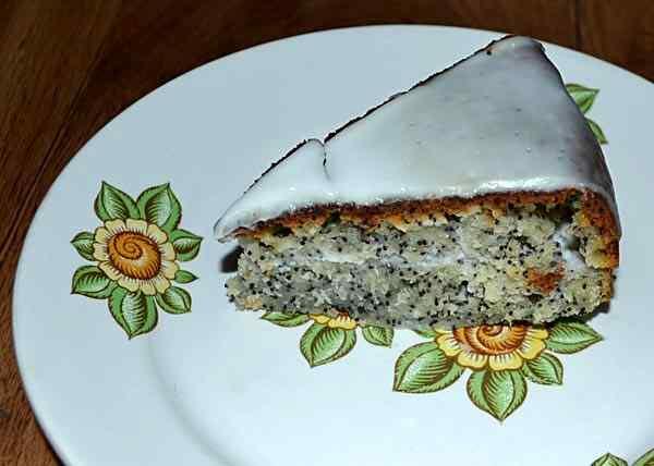 Маковый пирог в мультиварке