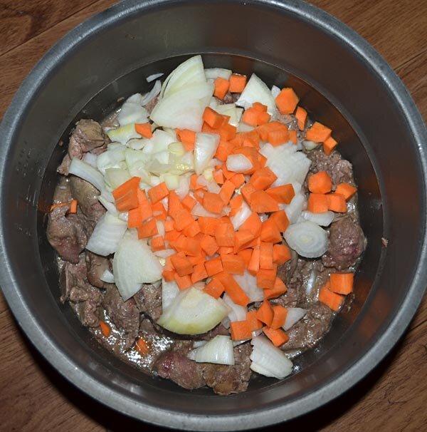 тушёная печень в мультиварке рецепты с фото