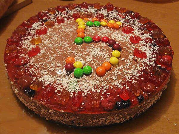 Украшаем наш торт в мультиварке