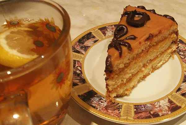 Торт со сгущенкой в мультиварке