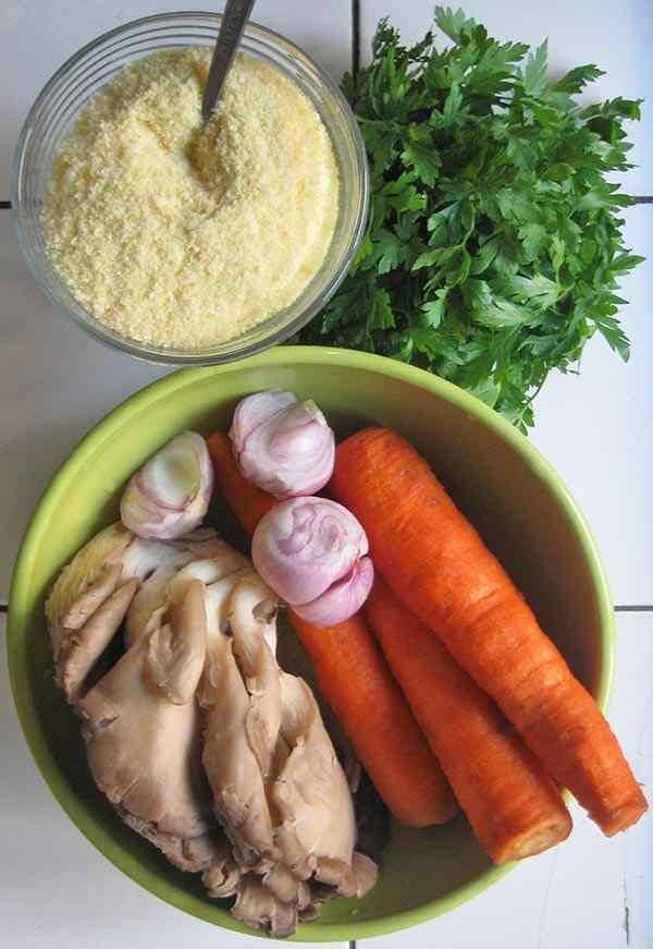 Шаг 2: Подготавливаем овощи