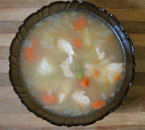 рецепт диетического супа с зеленым горошком