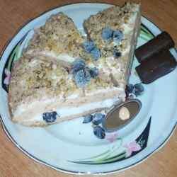кусочек торта из мультиварки