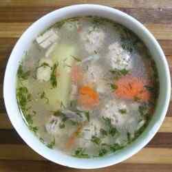 Суп из говядины в мультиварке