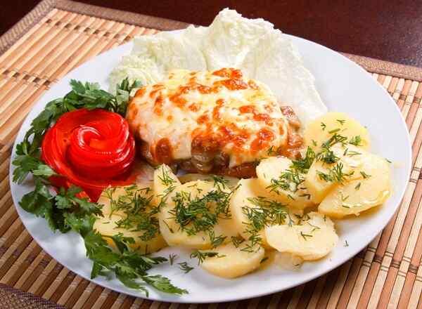 Котлеты с сыром в мультиварке