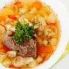 Овощной суп с говядиной в мультиварке