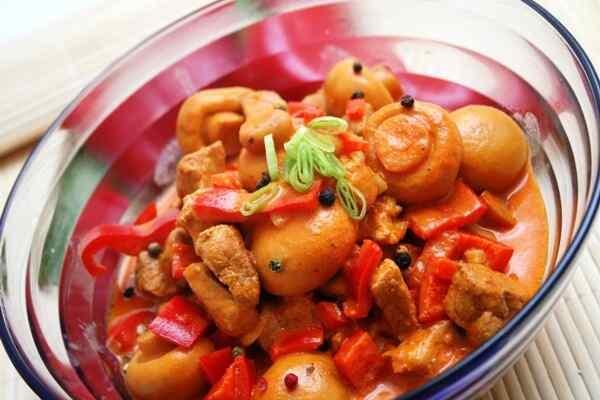 Готовим мясо с овощами в мультиварке