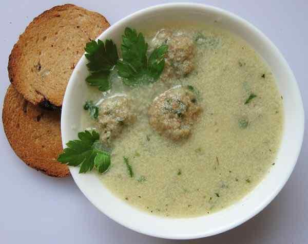 Как приготовить суп с фрикадельками в мультиварке