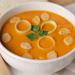 Овощной суп пюре в мультиварке из болгарского перца