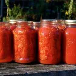 Как закрыть помидоры на зиму кусочками