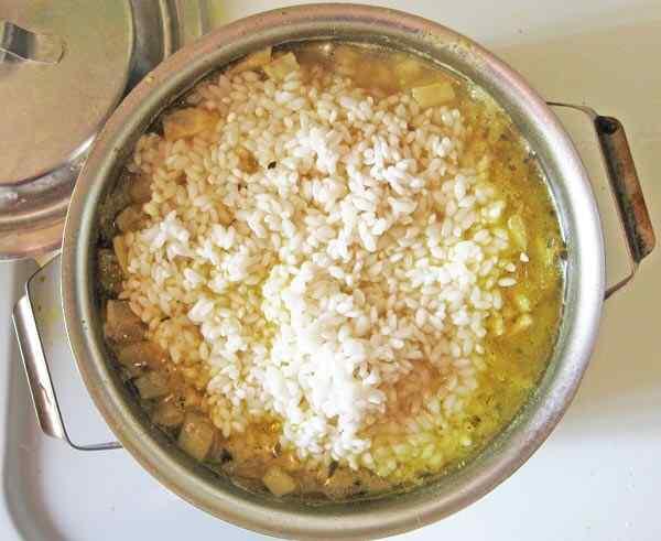 Готовим рис с фенхелем