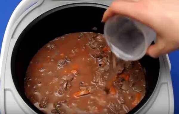 рецепт тушения говядины на мультиварке