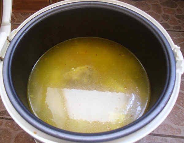 Как варить суп в мультиварке