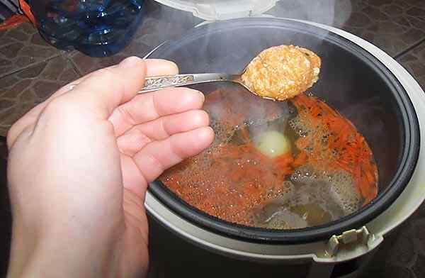 Диетический куриный суп в мультиварке