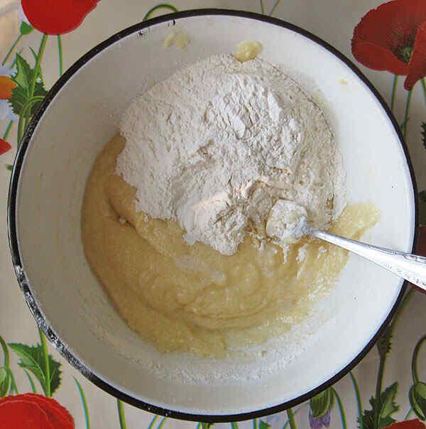 Делаем песочное тесто для пирога